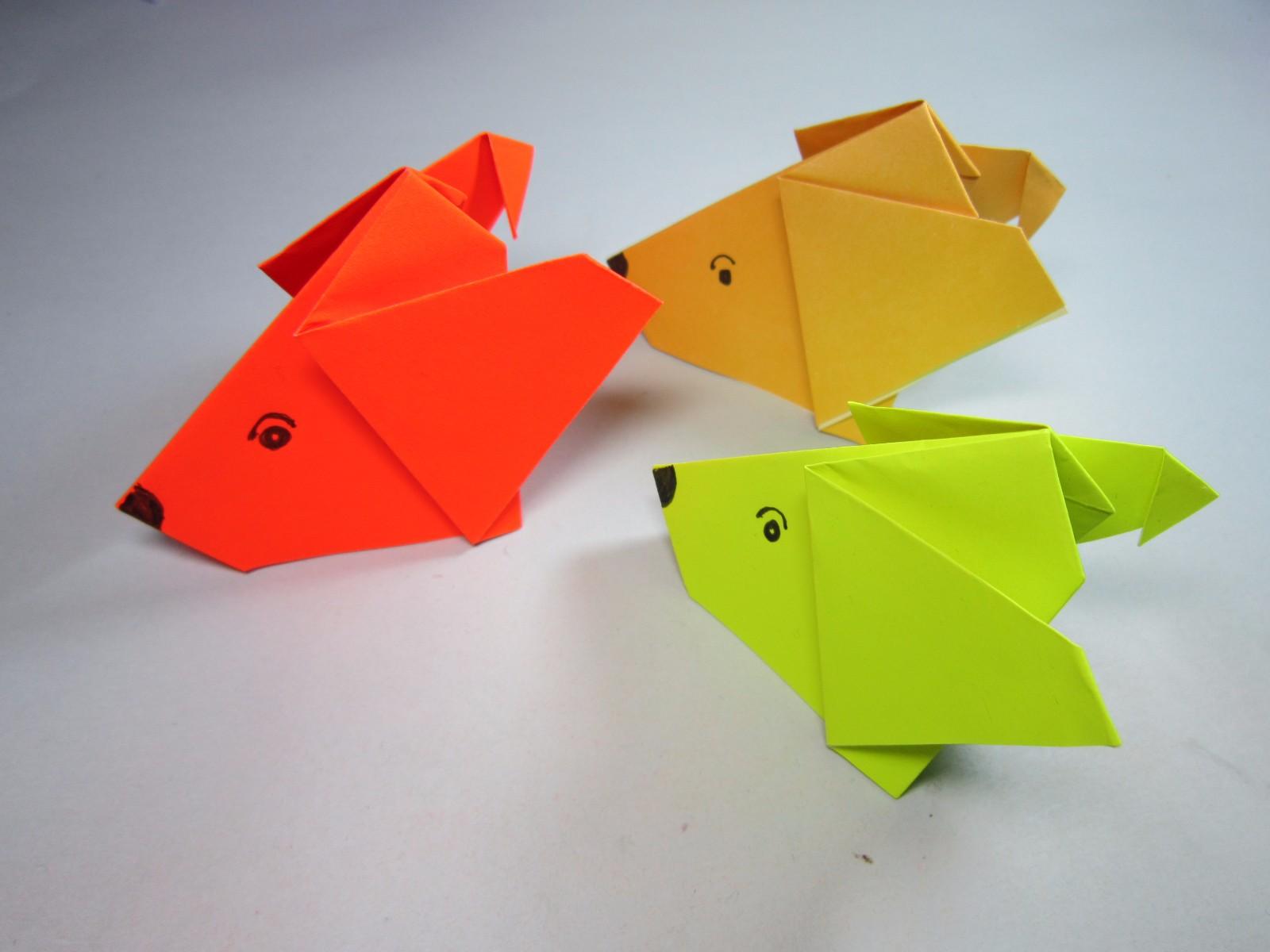 纸艺手工折纸小狗,看一遍就能学会简单又可爱的小狗头