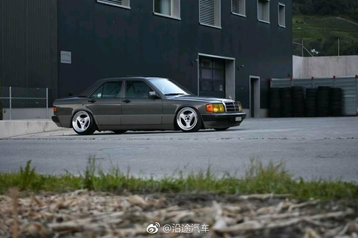复古奔驰E,在日本!