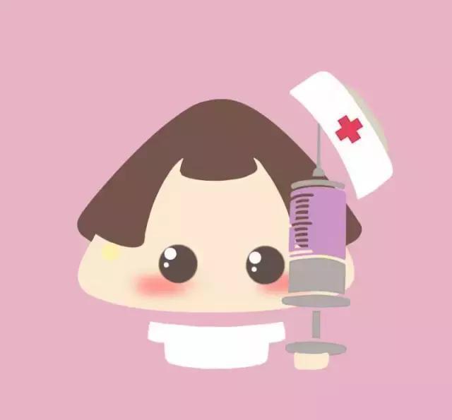 可爱正能量手绘|漫画头像 护士漫画形象 医生漫画