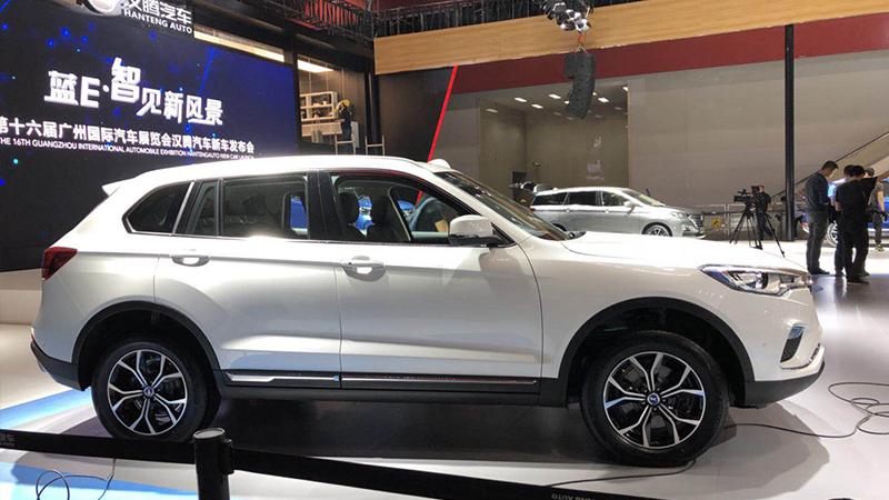 2018广州车展探馆丨汉腾X7 PHEV