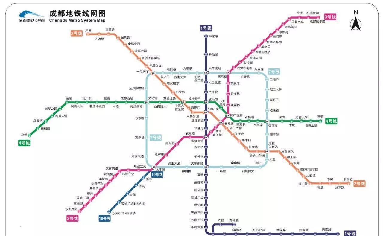 杭州地铁10号线线路图