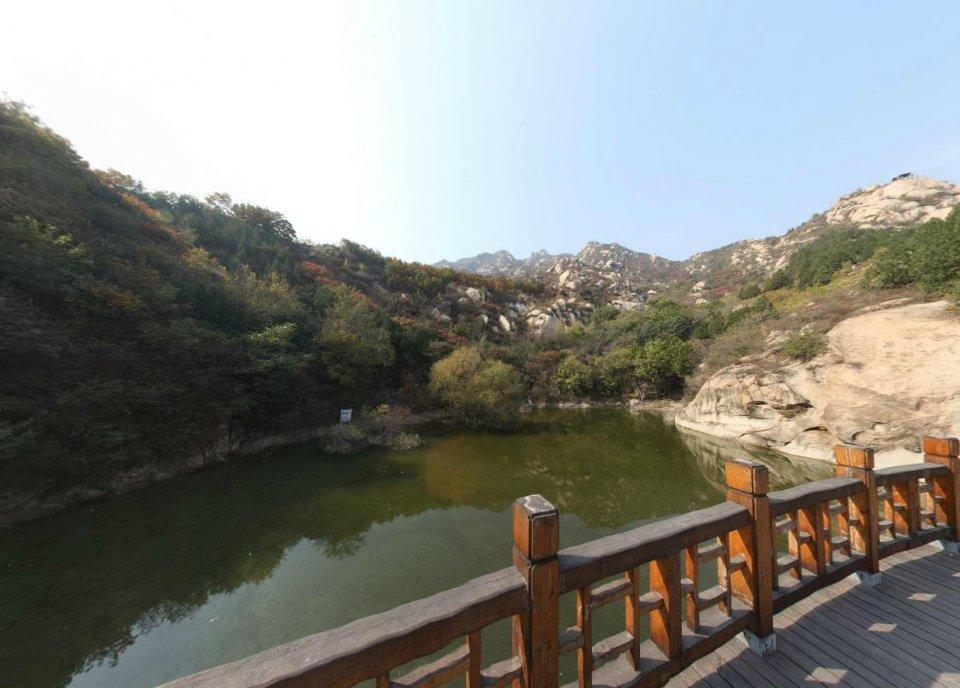 北京凤凰岭自然风景区,远郊的景,近郊的路,北京的自然