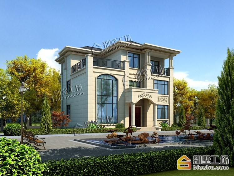 6款开间12m农村别墅,16万就能建.