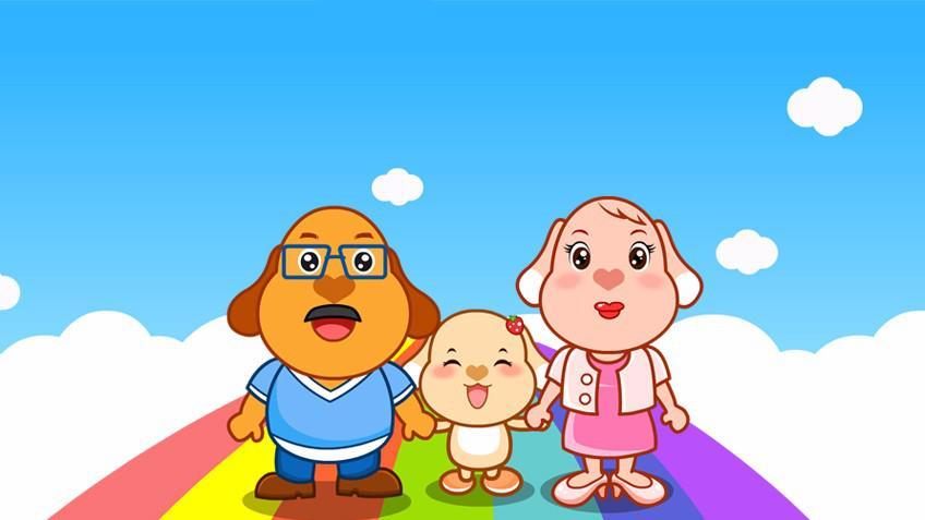 亲宝儿歌:彩虹的约定图片