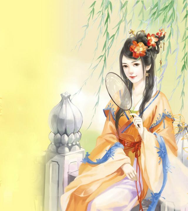 最美古风赏析:古风手绘画,貌美如花,神采飞扬的古风