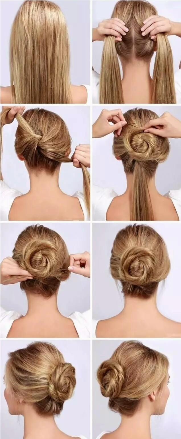 编发教程:简单编发大全,让编发发型来把自己变得美美