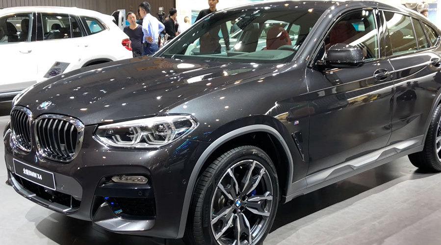 全新宝马X4成都上市,售价46.68-59.98万元,车头部分基本和X3一样