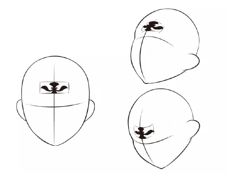 古风美人的五官技法