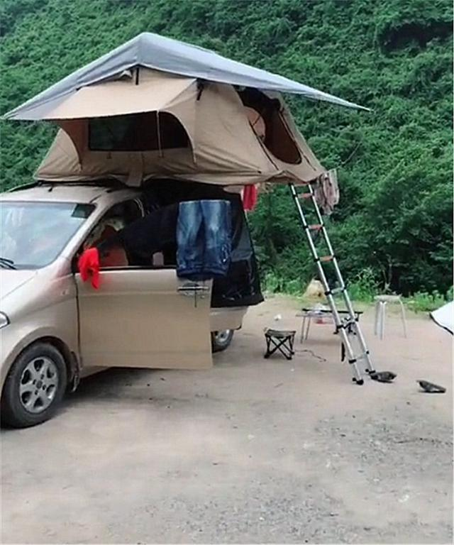 五菱宏光s改装房车旅游 五菱改房车的车效果图图片