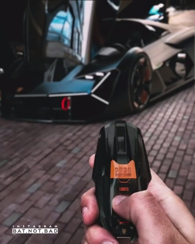 未来车钥匙新系列  兰博基尼与MIT合作概念车 Terzo...