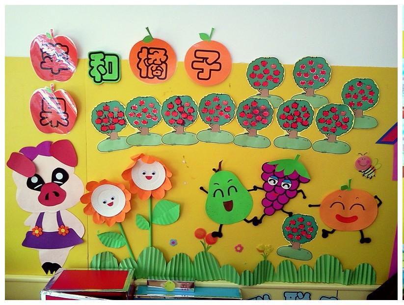 幼兒園水果主題墻飾設計原則