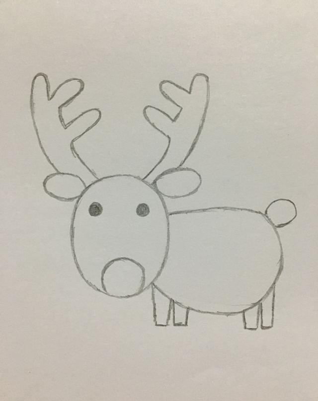 小鹿是一种很可爱的小动物哦,它们有长长的角,跑起来速度很快,好多小