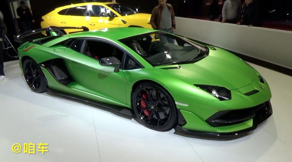 兰博基尼Aventador SVJ,一头绿色超级套牛蛙!!!