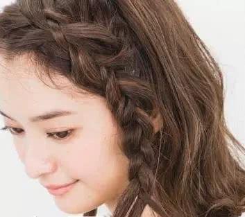 中长发发型 中长发怎么扎好看图片