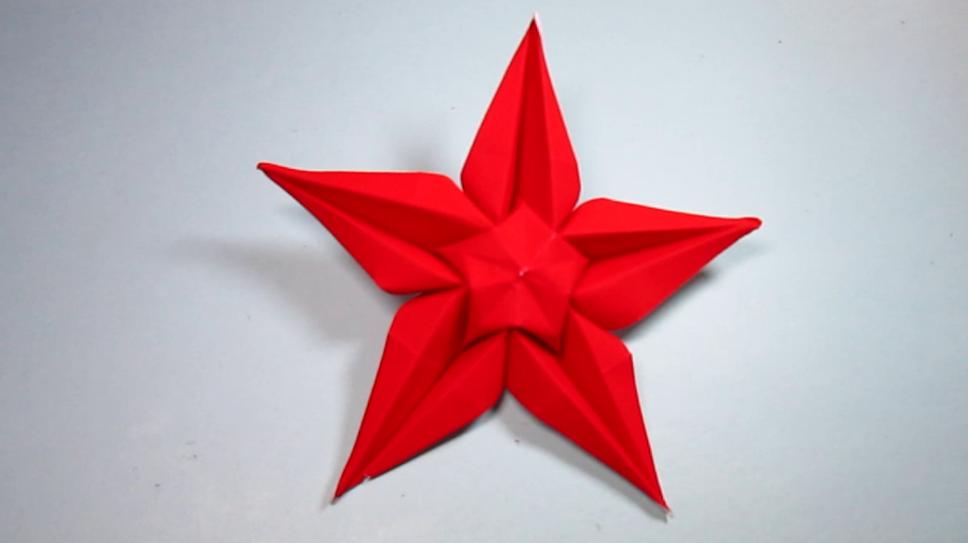 小学生简单折纸小星星_小学生折纸大全图解图片