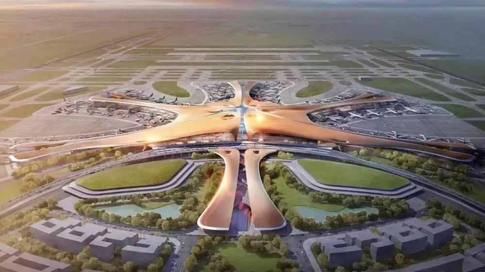 扎哈・哈迪德作品:全球最大机场--北京新机场,科幻堪比外星人基地
