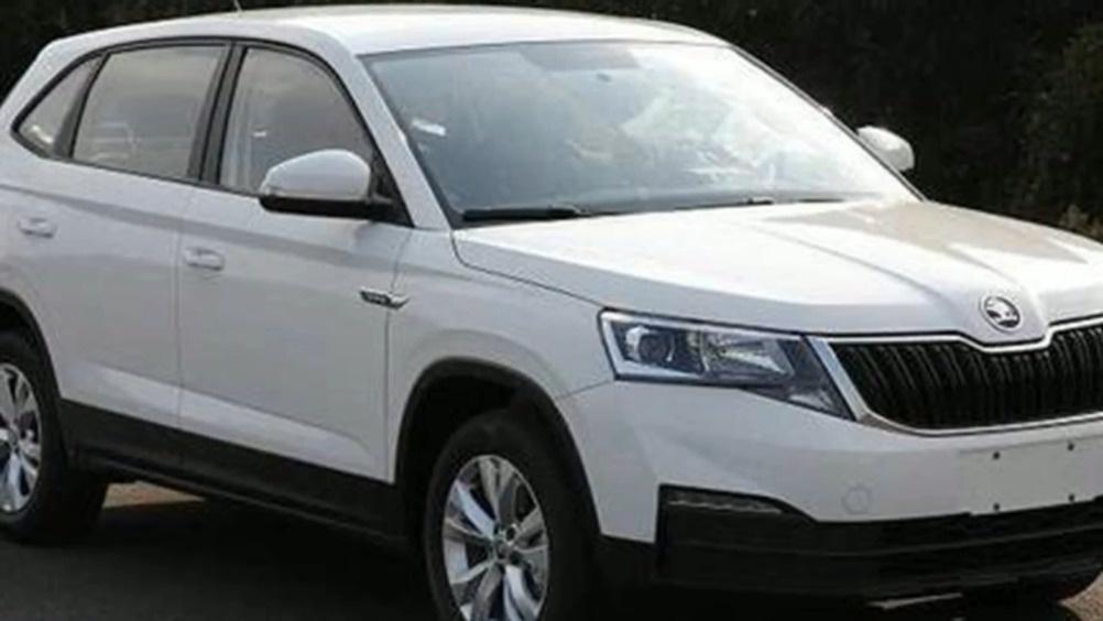 定位低于柯珞克  斯柯达全新小型SUV申报图  ?