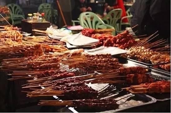 广西北海之美味夜市烧烤!图片