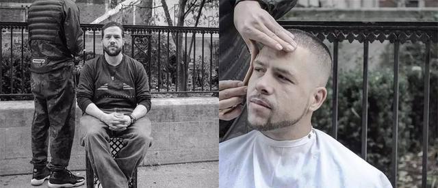发型师v奇想奇想给乞丐理发,特快不一般车头的型号效果图片