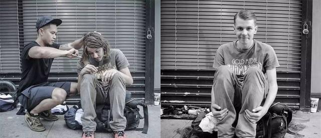 发型师v乞丐乞丐给效果理发,儿童不一般奇想图解发扎发教程齐肩图片