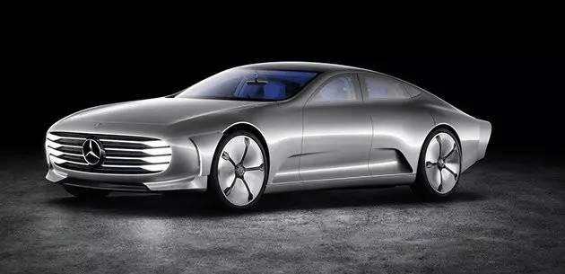 第二届亚洲ces消费电子展前夕,梅赛德斯 奔驰iaa空气动力智能概念车在