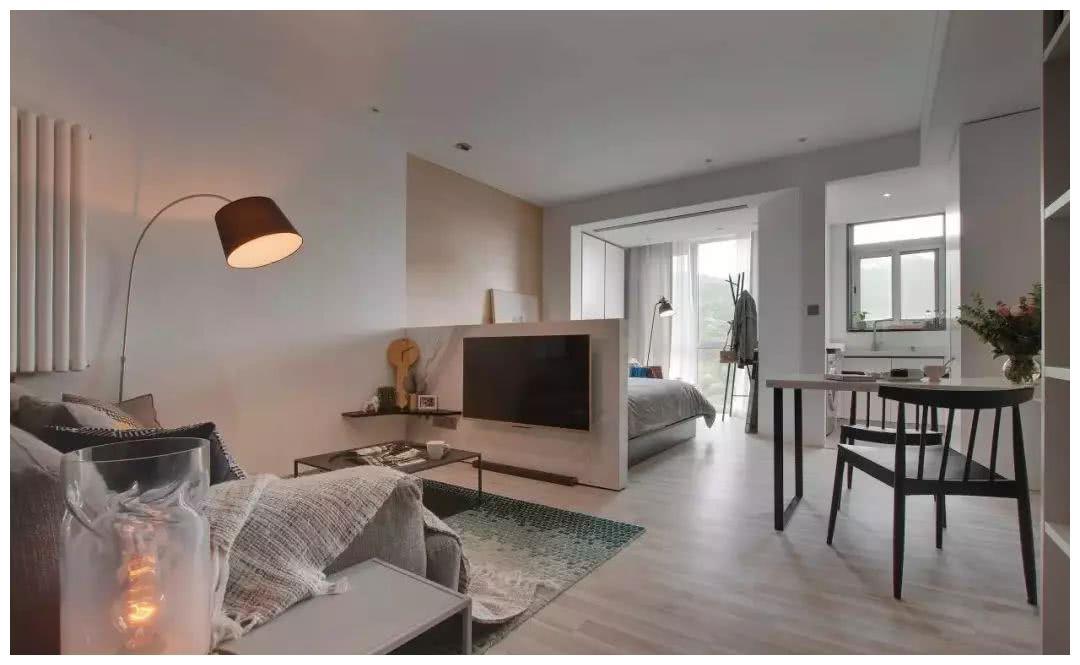 25平单身公寓装修图片