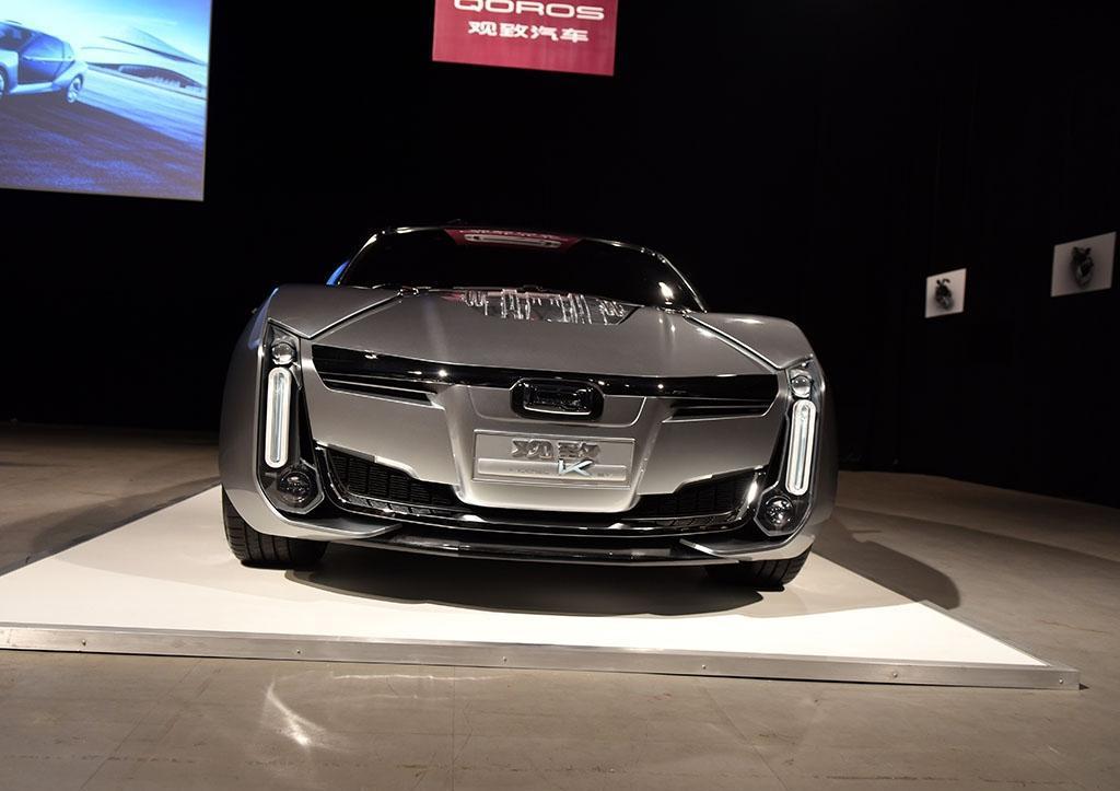2.6秒破百 观致Model K-EV概念车亮相, 外表满满的科技感