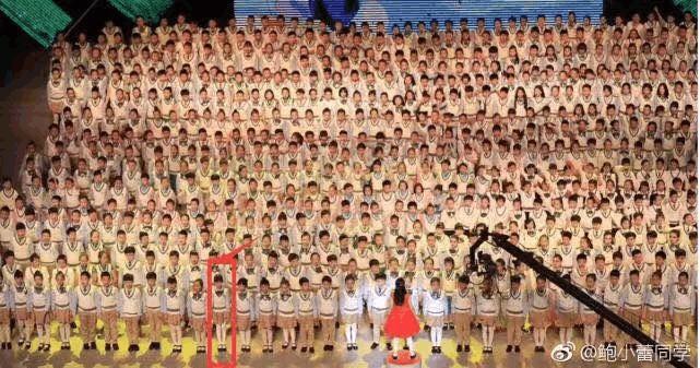 陆毅女儿参加学校活动, 10岁女儿大长腿简直要逆天了