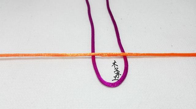 木子手工:手工diy,红绳手链之雀头结编法图文教程
