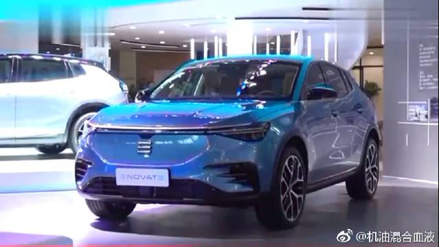 视频:国产电动汽车新贵族,ENOVATE天际ME7亮相广州车展!