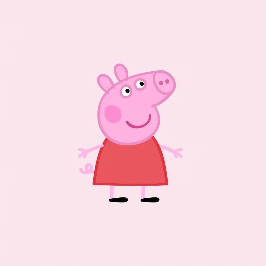小猪佩奇 情侣头像 点赞脱单