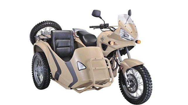 盘点几款热议的边三轮摩托车