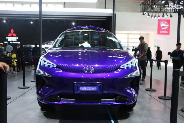 广汽三菱首款SUV纯电动概念车——E more动力曝光