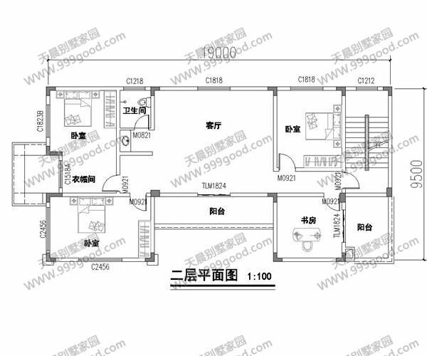 5米农村三层别墅设计图,精益求精的跃层设计!