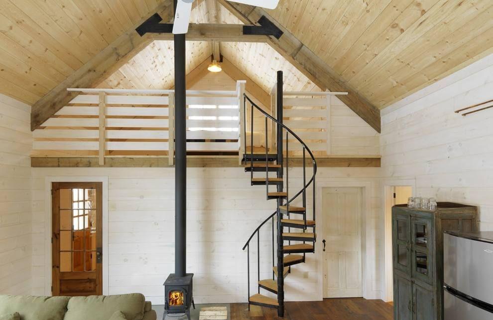 阁楼楼梯设计图片,让空间看着更有趣