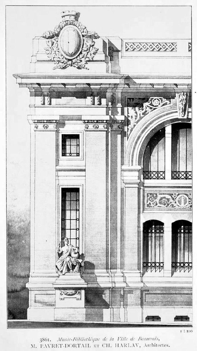 百年前的建筑手绘._新浪看点