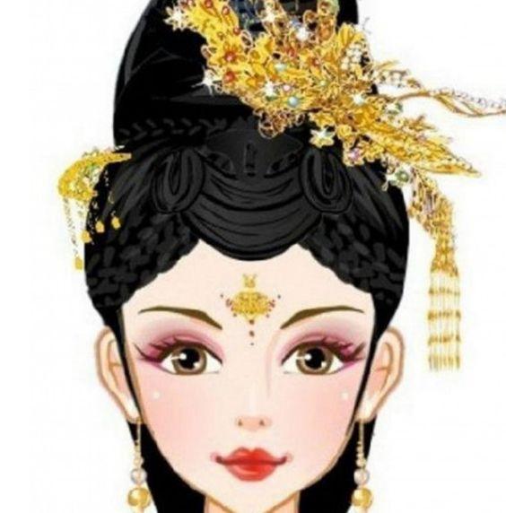 十二星座专属的古风女生,摩羯座一品发饰,巨蟹座最美头面!狮子座夫人最擅长什么意思图片