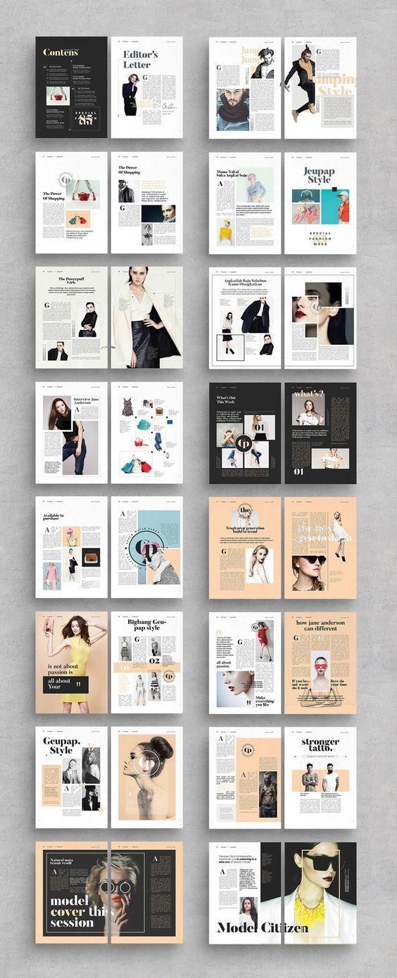 时尚杂志排版设计  特别声明:以上文章内容仅代表作者本人观点,不