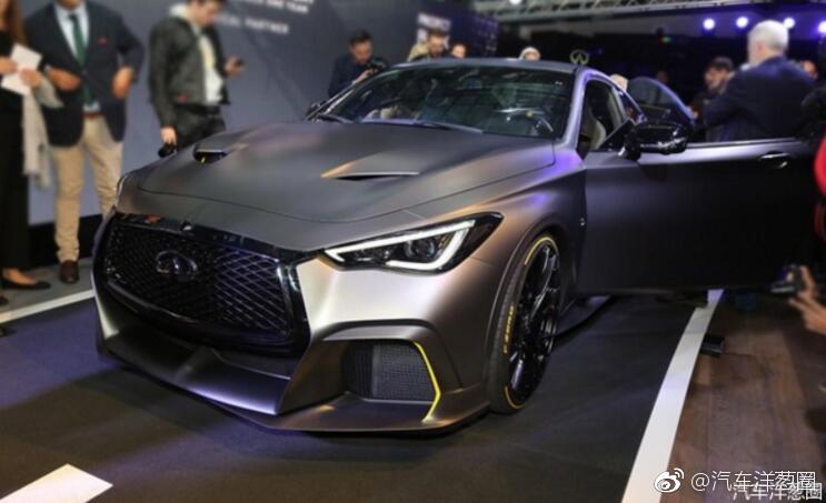 英菲尼迪Project Black S亮相!小号GTR/搭F1混动技术