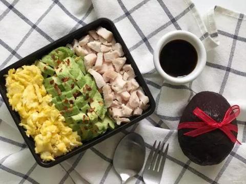 减肥食谱丨5-10分钟解决早、午、晚餐