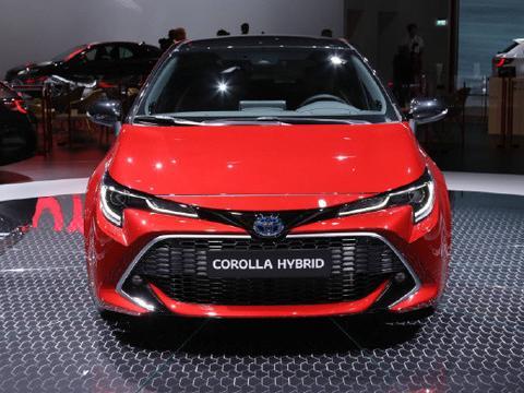 丰田卡罗拉两厢版混合动力亮相巴黎车展