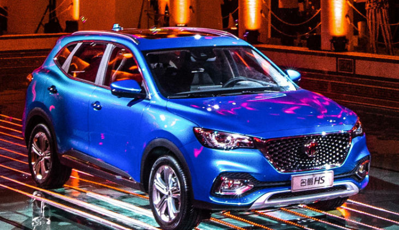 MG HS正式亮相9月在国内上市 竞争日产逍客