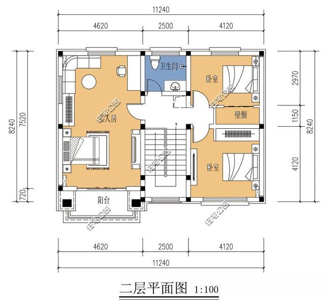 5套10米宽小户型房型别墅,农村方正,四平八稳卖合院有重庆别墅哪里图片