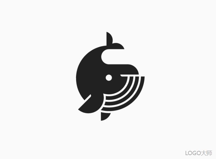 一组鱼元素的logo设计欣赏_新浪看点图片