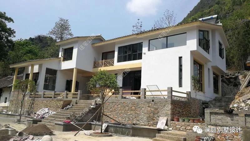 农村自建房就应选中式?3套新中式小院,25到70万建好漂亮又宜居图片