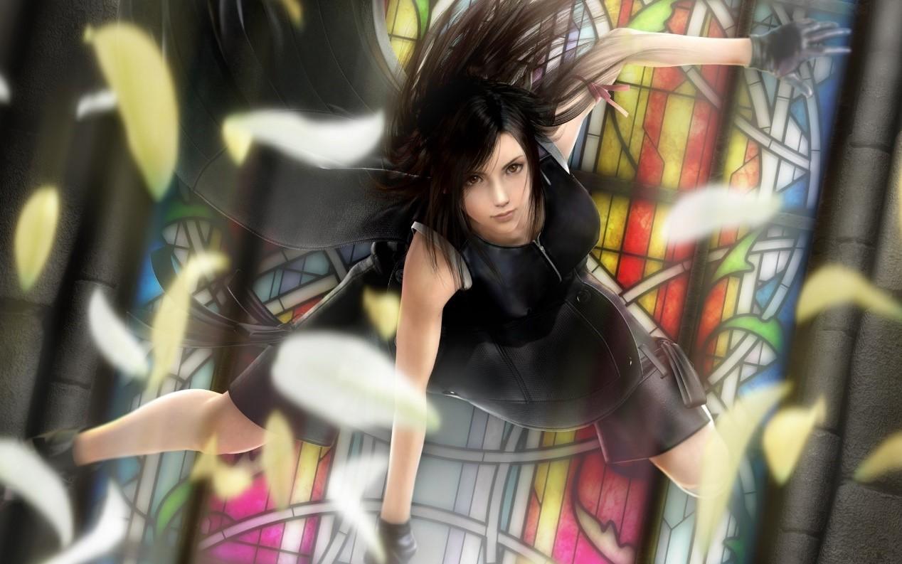 最终幻想7:质感香蕉皮肤师3d爆棚英雄蒂法!艺术细腻性感建模金刚攻略联盟图片