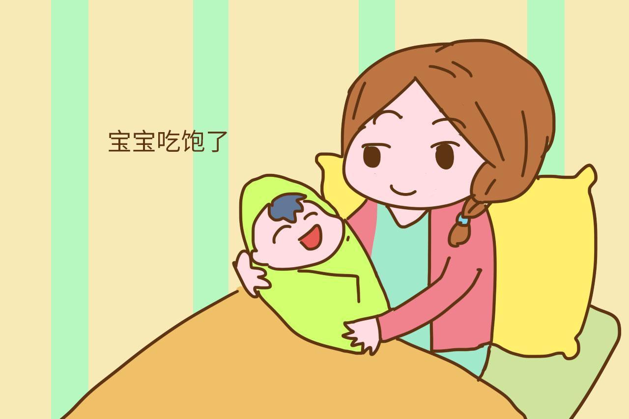 刚出生的婴儿胃才这么点,别把宝宝撑着了图片