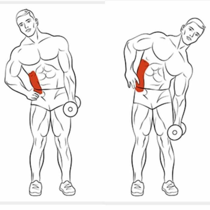 男生腹肌手绘图片