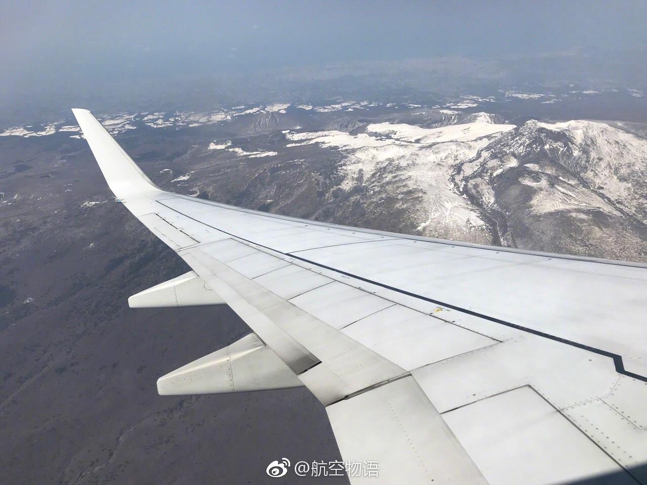 到济州岛晚饭去了,最后一张凑数 今天体验@大韩航空 北京济州短途航班