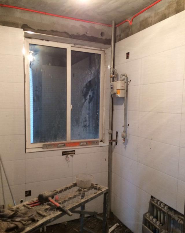 装修灰色第三篇颜色v灰色日记的地砖配啥背景的瓦工电视墙图片